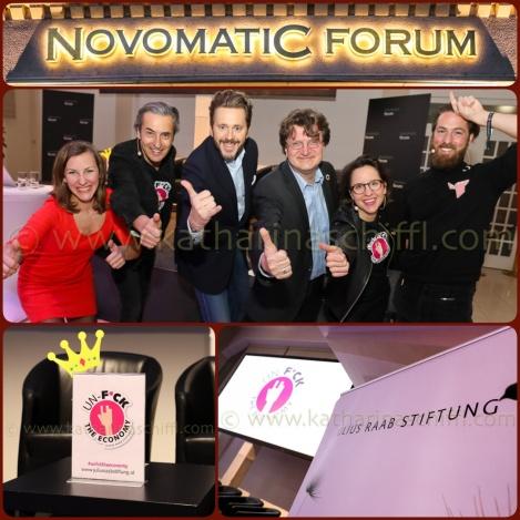 UNF*CK THE ECONOMY?! Warum Unternehmen im (digitalen) Wandel Teil der Lösung und nicht der Probleme sind. @ NovomaticForum am 20.03.2017