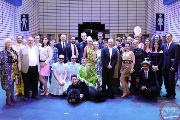 Premiere - Der Besuch der alten Dame - Theater an der Wien - Cast