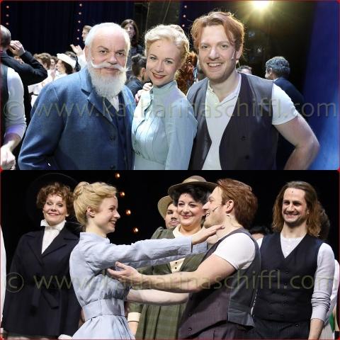 Premiere von Rodgers & Hammersteins Carousel @ Volksoper Wien