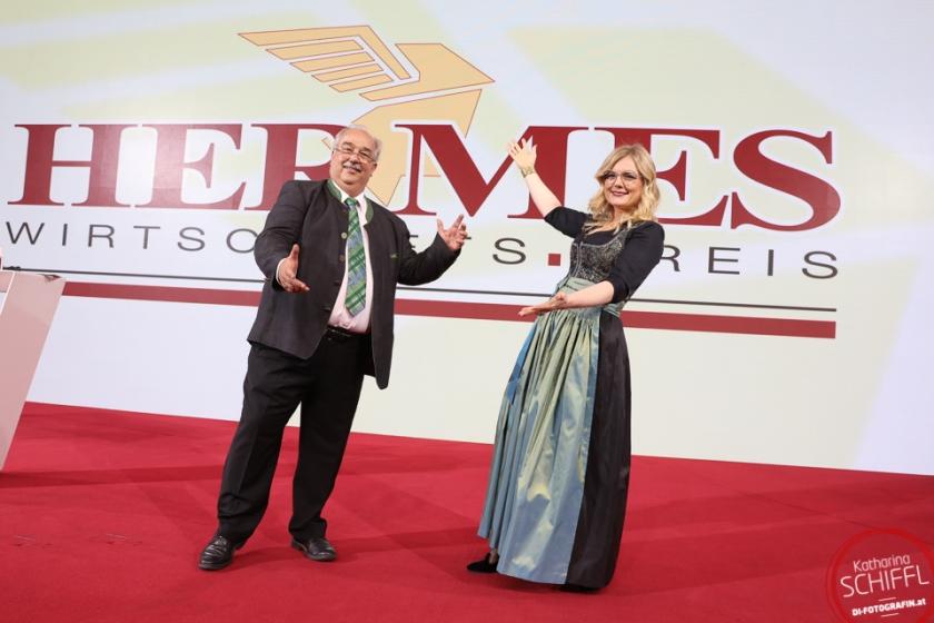 Gerhard Schlögel & Monica Rintersbacher @ Hermes.Wirtschafts.Preis Gala 2020